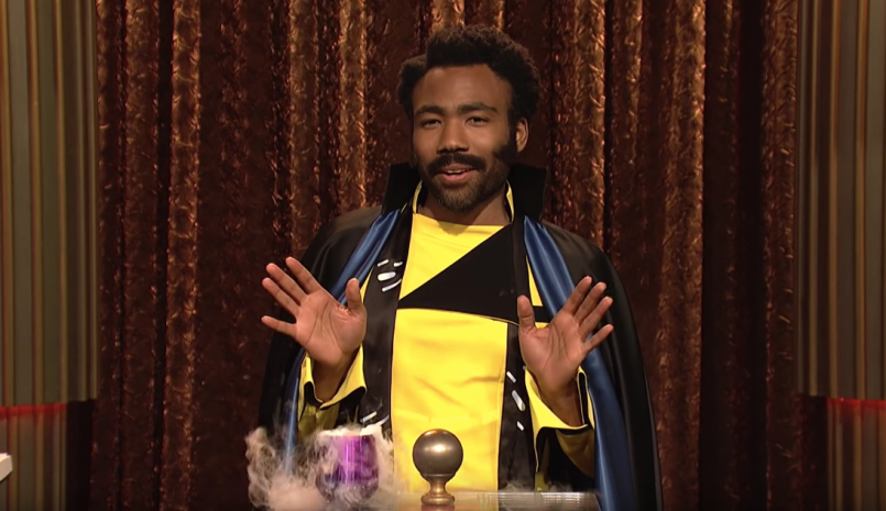Donald Glover Lando Calrissian Saturday Night Live