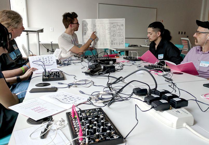 Make Noise 0-Coast at Moogfest 2018