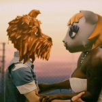 Arcade Fire dogs cats chemistry video