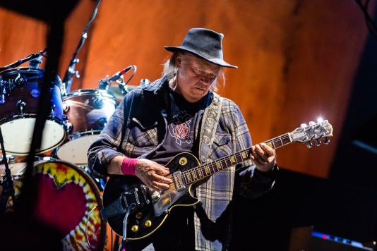 Neil Young, photo by Debi Del Grande