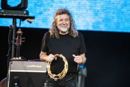 Robert Plant, photo by Debi Del Grande