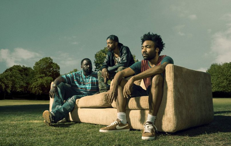 Atlanta Donald Glober Brian Tyree Henry Lakeith Stanfield Couch FX Renewal TV Sky Blue