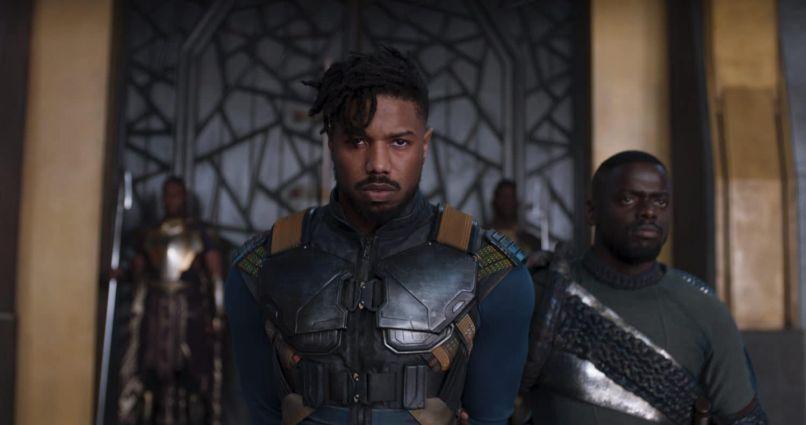 Black Panther Eric Killmonger Michael B. Jordan