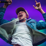 Chance the Rapper Special Olympics Concert 50th Anniversary Usher Smile Jump