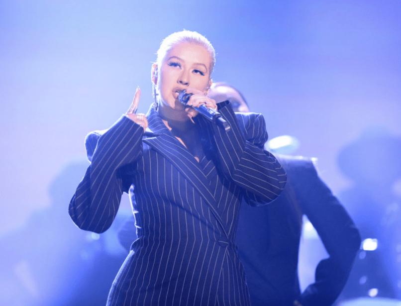 Christina Aguilera on The Tonight Show