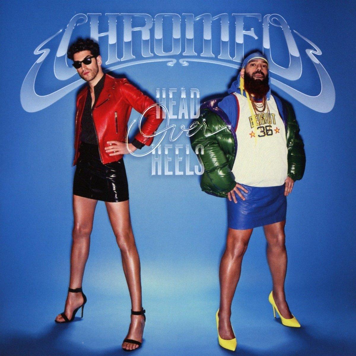Chromeo head over heels album art cover artwork