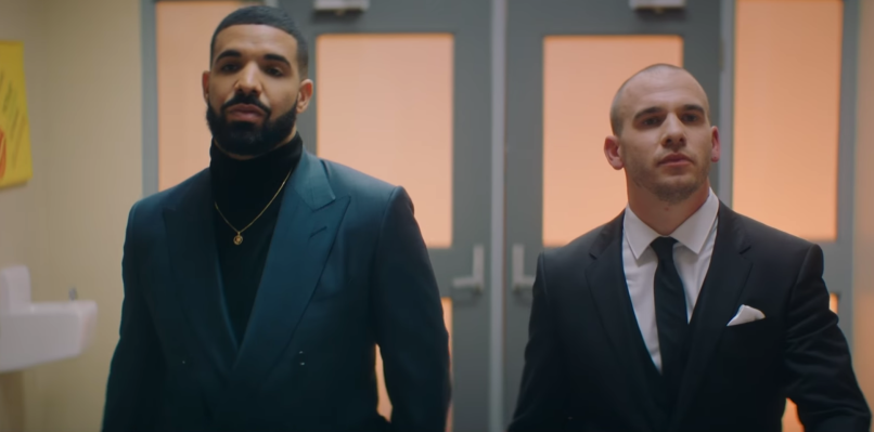 Drake's I'm Upset video