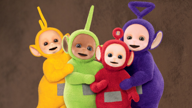 Friendship Teletubbies Mourn Sorpresa Familia cover art