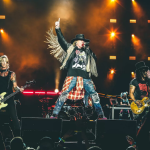 "Guns N' Roses perform ""Shadow of Your Love"" Denmark video"