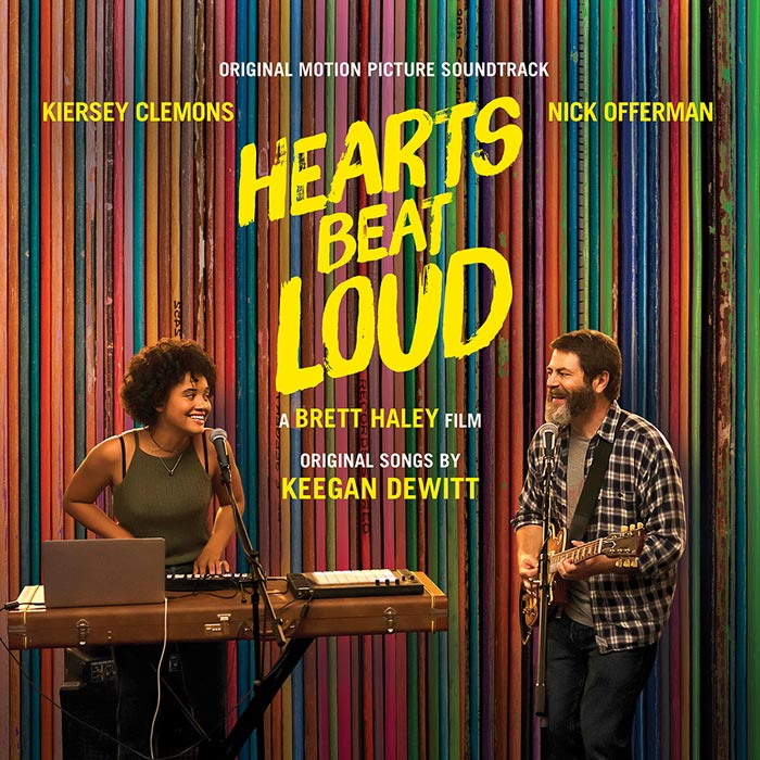 hearts beat loud soundtrack album art keegan dewitt Keegan DeWitt breaks down the Hearts Beat Loud soundtrack Track by Track: Stream