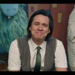 Jim Carrey Kidding Michel Gondry Showtime Trailer Still Puppet Red Smile Vest
