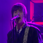 "Johnny Marr debuts ""Bug"" single on Conan"