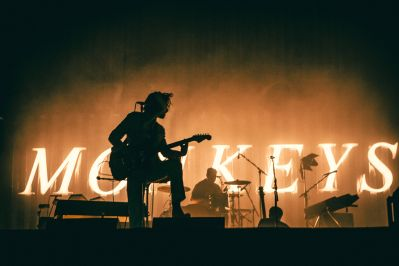 Arctic Monkeys, photo by Kimberley Ross