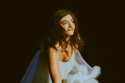 Lorde, photo by Kimberley Ross