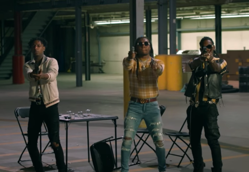 """Watch Migos and 21 Savage in """"Narcos"""" video"""