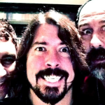 Pat Smear, Dave Grohl, and Krist Novoselic