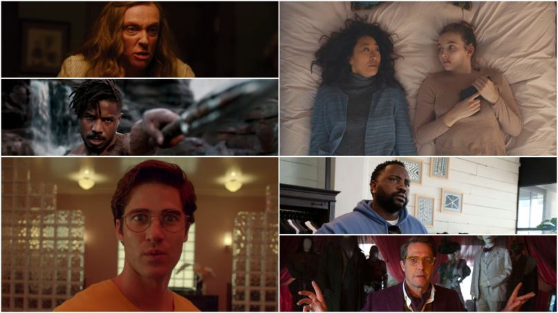 Best Performances 2018 Toni Colette Hereditary Michael B Jordan Black Panther Darren Criss American Crime Story Sandra Oh Jodie Comer Killing Eve Brian Tyree Henry Atlanta Hugh Grant Paddington 2