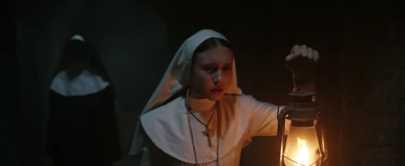 The nun trailer teaser conjuring