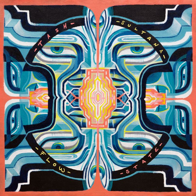 Tash Sultana Flow State Album Artwork Cover