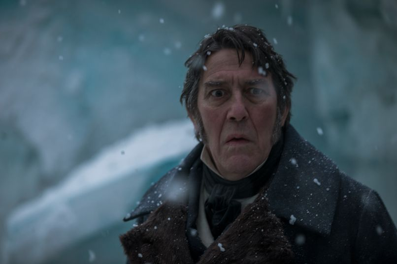 The Terror AMC Ciaran Hinds boat scared white