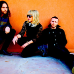 The Joy Formidable AAARTH The Wrong Side orange wall shoe