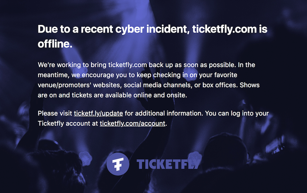 ticketfly Ticketfly breach exposed data of 26 million customers: Report