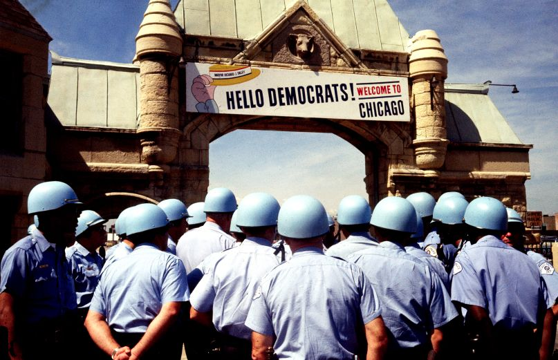 Democratic National Convention, photo by Bettman/CORBIS