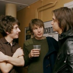 Alex Turner, Julian Casablancas, and Alex Kapranos of Franz Ferdinand