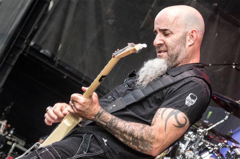 Anthrax's Scott Ian at Jones Beach July 29, 2018