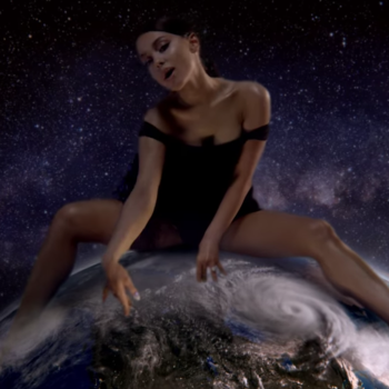 "Ariana Grande's ""God is a Woman"" video"