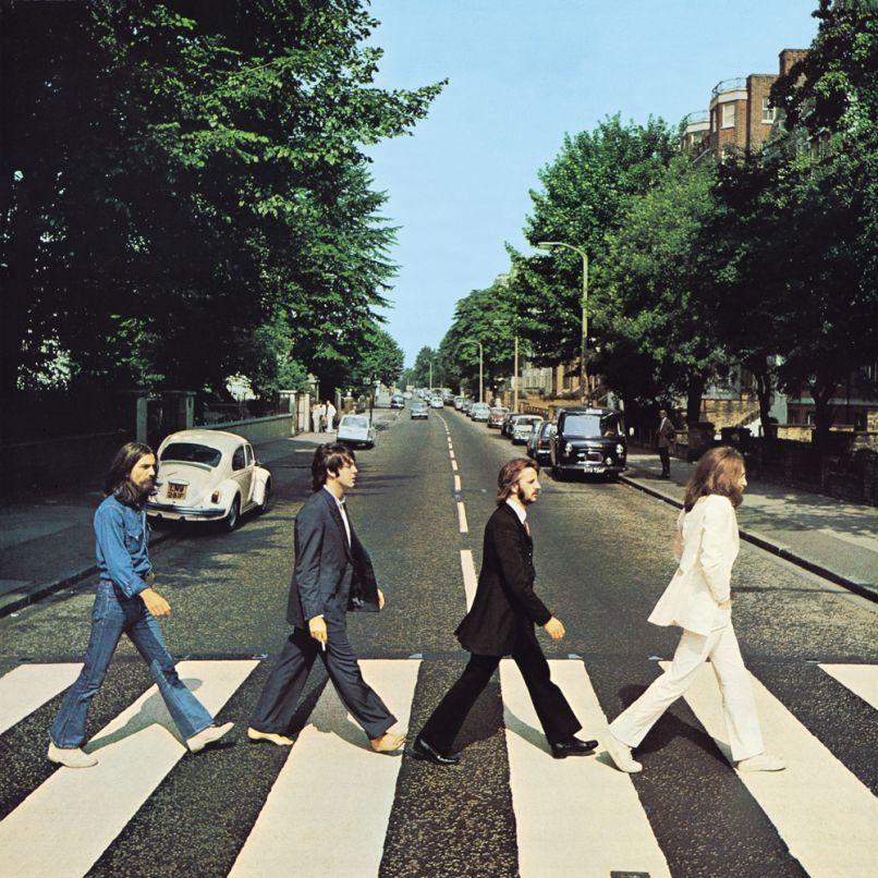 Beatles Abbey Road cover artwork