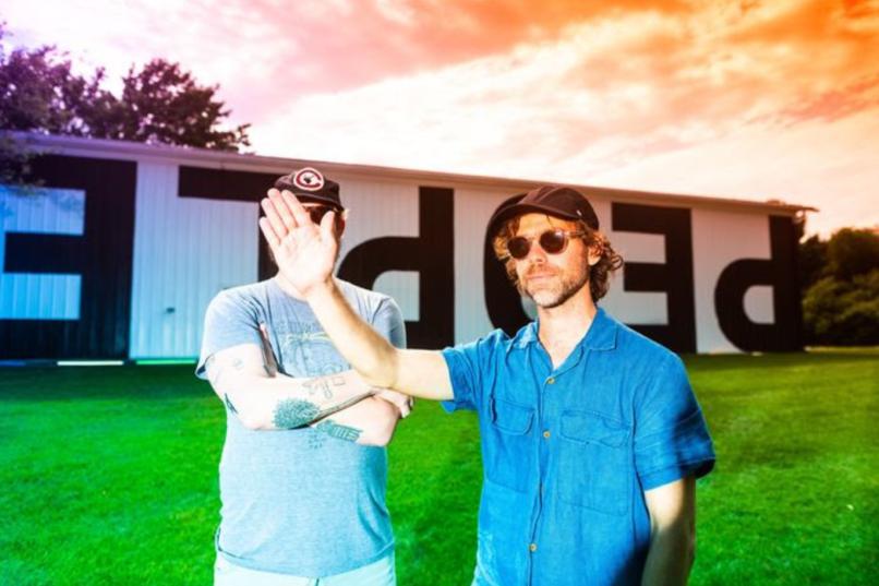Big Red Machine Aaron Dessner Justin Vernon Debut Album People Sunset National Bon Iver
