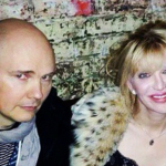Billy Corgan with Courtney Love