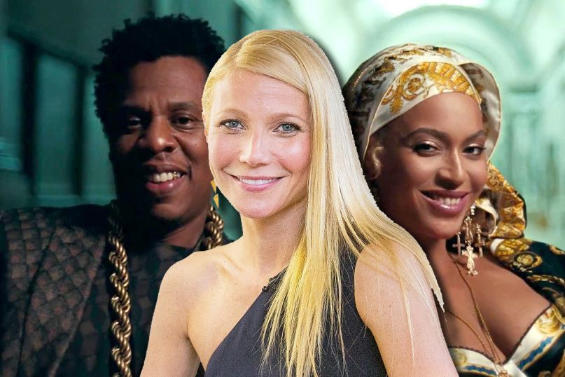 gwyneth paltrow jay-z beyonce becky with the good hair sorry