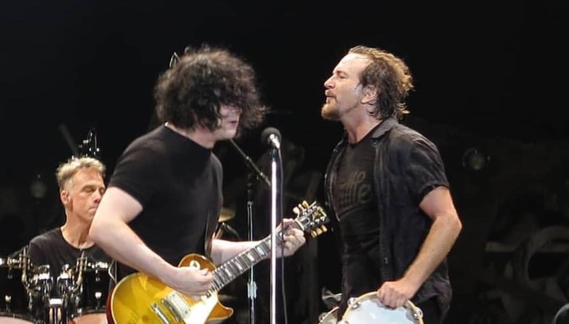 Jack White with Pearl Jam