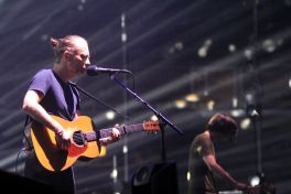 Radiohead, photo by Heather Kaplan