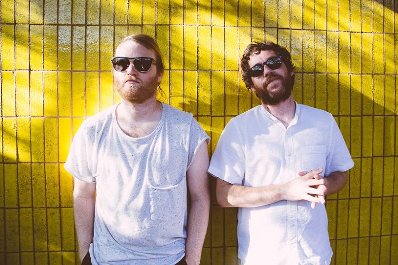 Kyle Dixon and Michael Stein of S U R V I V E