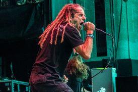 Lamb of God's Randy Blythe at Jones Beach July 29, 2018