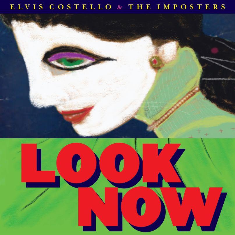 Elvis Costello Look Now artwork