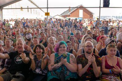 Newport Folk Festival 2018 Ben Kaye Crowd