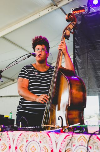 Bermuda Triangle, Newport Folk Festival 2018, photo by Ben Kaye