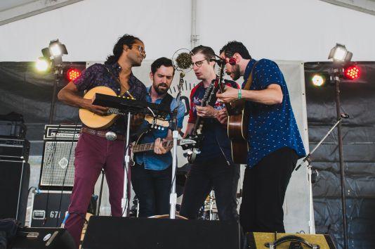 Newport Folk Festival 2018 Ben Kaye-Darlingside