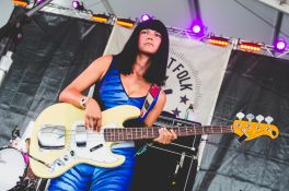Khruangbin, Newport Folk Festival 2018, photo by Ben Kaye