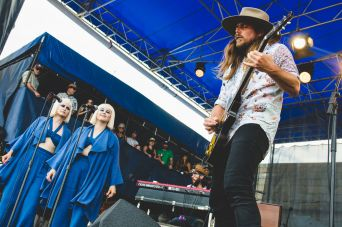 Newport Folk 2018 Ben Kaye-Lukas Nelson and Promise of the Real with Lucius 1