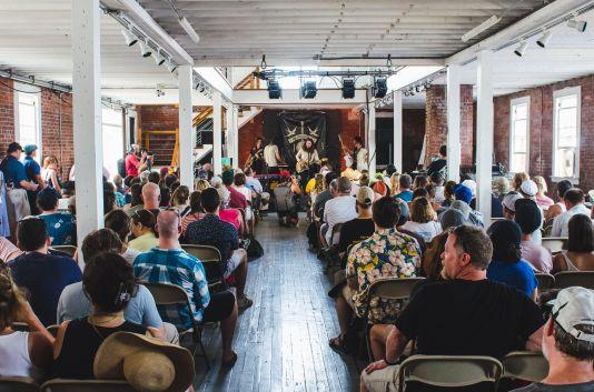 Newport Folk 2018 Ben Kaye-Nicole Atkins Museum Stage