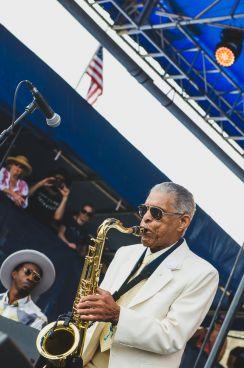 Preservation Hall Jazz Band, Newport Folk Festival 2018, photo by Ben Kaye