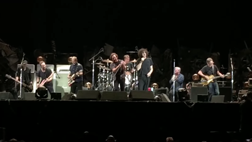 Pearl Jam and MC50 at Rock Werchter Kick Out the Jams live guest heavy performance