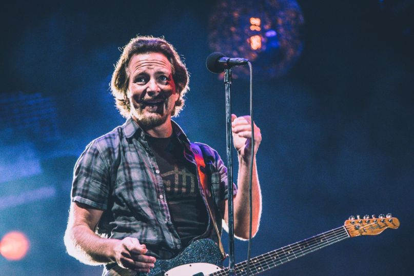 Pearl Jam, NOS Alive 2018, Portugal, Photo by Lior Phillips