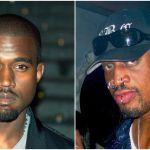 Dennis Rodman Kanye West hat sunglasses