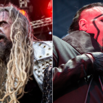 Rob Zombie and Marilyn Manson, photo by Philip Cosores